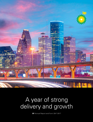 BP annual report 2017