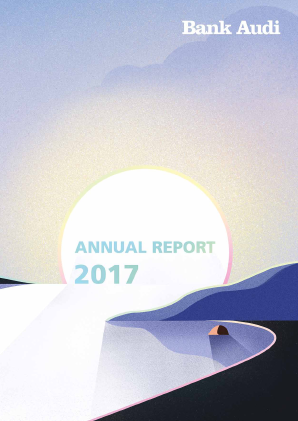 Bank Audi SAL annual report 2017