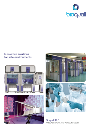 Bioquell annual report 2012