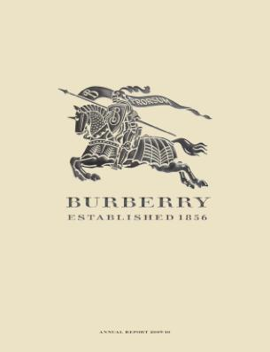 Burberry Group annual report 2010