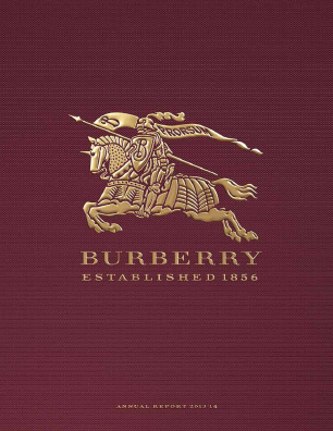 Burberry Group annual report 2014