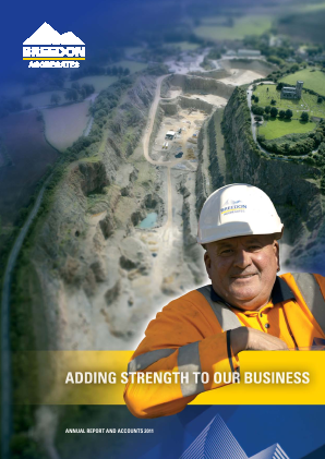 Breedon Group (previously Breedon Aggregates) annual report 2011