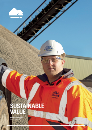 Breedon Group (previously Breedon Aggregates) annual report 2014