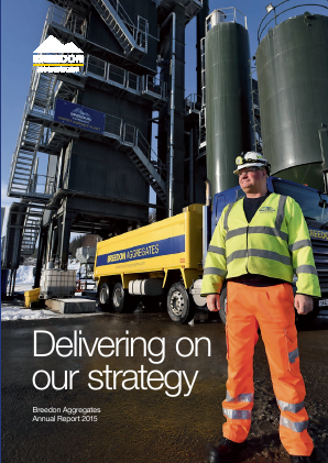 Breedon Group (previously Breedon Aggregates) annual report 2015