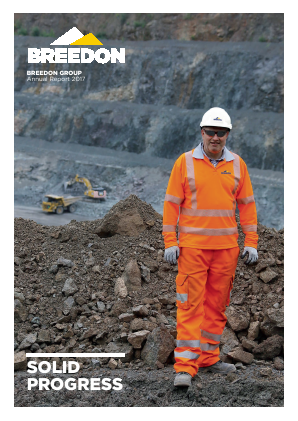 Breedon Group (previously Breedon Aggregates) annual report 2017