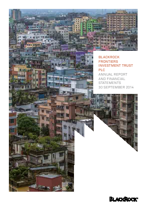 Blackrock Frontiers Investment Trust annual report 2014