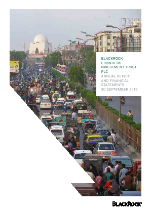 Blackrock Frontiers Investment Trust annual report 2015