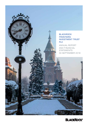 Blackrock Frontiers Investment Trust annual report 2018