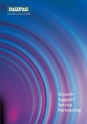 Braveheart Investment Group annual report 2009