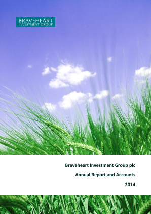 Braveheart Investment Group annual report 2014
