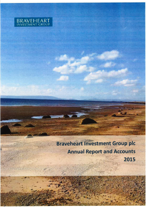 Braveheart Investment Group annual report 2015