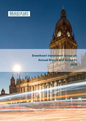 Braveheart Investment Group annual report 2016