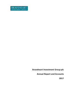 Braveheart Investment Group annual report 2017