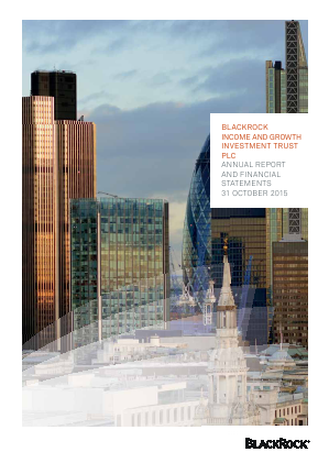 Blackrock Income & Growth Investment Trust annual report 2015