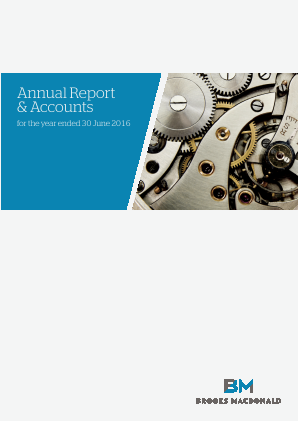 Brooks Macdonald Group annual report 2016