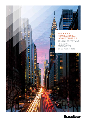 Blackrock North American Income Trust Plc annual report 2015