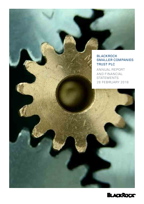 Blackrock Smaller Companies Trust Plc annual report 2018