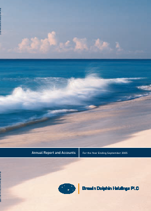 Brewin Dolphin Holdings annual report 2005