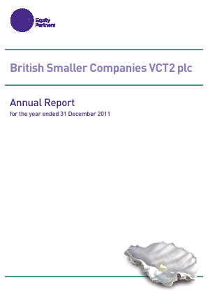 British Smaller Companies VCT2 Plc annual report 2011