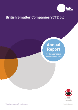 British Smaller Companies VCT2 Plc annual report 2017