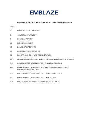 BSD Crown annual report 2013