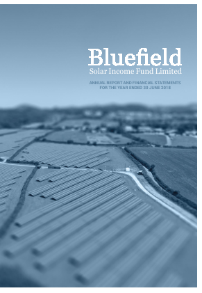 Bluefield Solar Income Fund annual report 2018