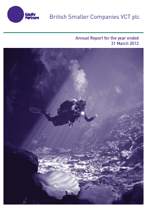 British Smaller Companies VCT annual report 2012