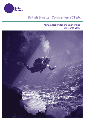 British Smaller Companies VCT annual report 2013