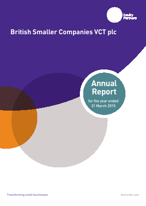 British Smaller Companies VCT annual report 2015