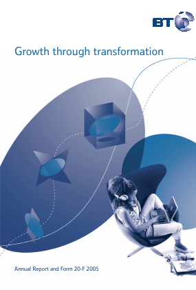 BT Group annual report 2005