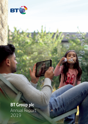 BT Group annual report 2019