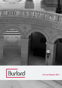 Burford Capital annual report 2011