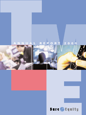 Bure Equity annual report 2000