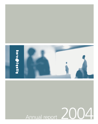 Bure Equity annual report 2004