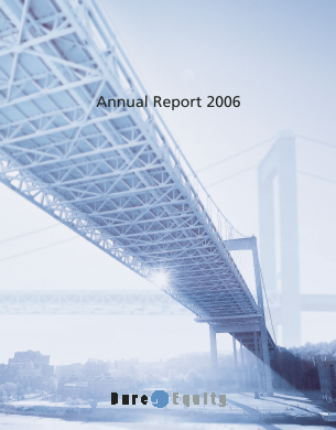 Bure Equity annual report 2006