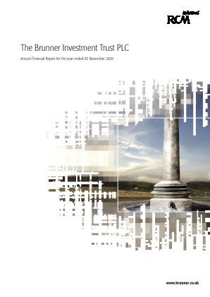 Brunner Investment Trust annual report 2008