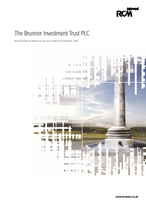 Brunner Investment Trust annual report 2009