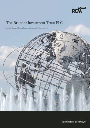 Brunner Investment Trust annual report 2011