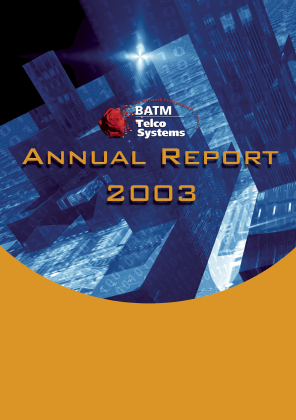 BATM Advanced Communications annual report 2003
