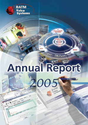 BATM Advanced Communications annual report 2005
