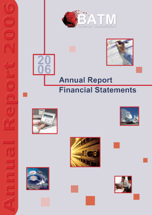 BATM Advanced Communications annual report 2006