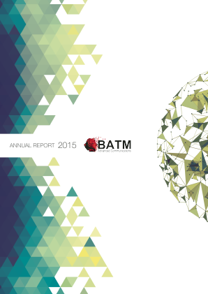 BATM Advanced Communications annual report 2015