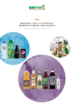 Britvic annual report 2018