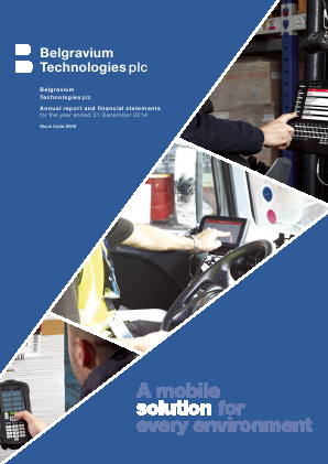 Touchstar (previously Belgravium Technologies) annual report 2014
