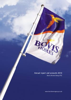 Bovis Homes Group annual report 2010