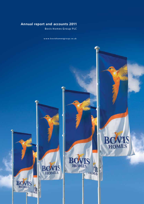 Bovis Homes Group annual report 2011