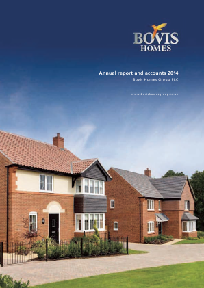 Bovis Homes Group annual report 2014