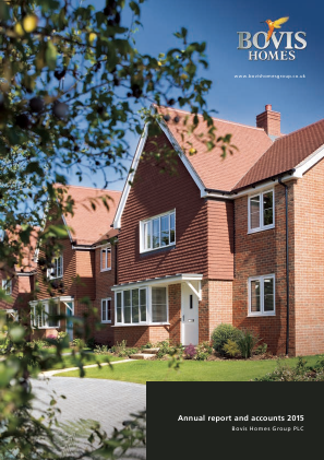 Bovis Homes Group annual report 2015