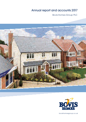 Bovis Homes Group annual report 2017