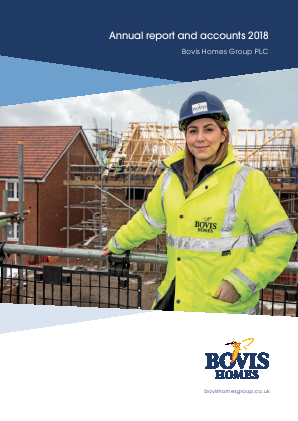 Bovis Homes Group annual report 2018